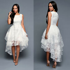 Fashion Women Sexy Lace Wedding Bridesmaid Dress Prom Evening Party Gown Dresses