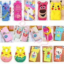 New Cartoon Disney Soft Silicone Rubber Case Cover For iPhone Samsung LG Huawei