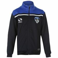 Sondico Oldham Athletic FC Walk Out Track Jacket Juniors Navy Football Soccer