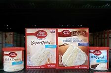 Betty Crocker ~ Delights Super Moist or Super Moist Cake Mix w -Frosting-You Pic