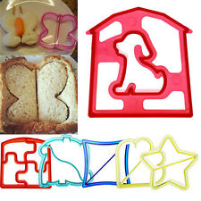 New Lunch Kids Sandwich Toast Cookies Cake Bread Biscuit Food Cutter Mould DIY
