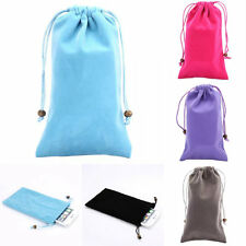 Soft Neck Strap Sleeve Purse Case Cover Pouch Bag For Cell Phone MP4 iPod 5.5''