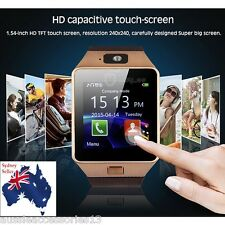 Smart Bluetooth Wrist Watch with Camera for Apple IOS and Android Smartphones