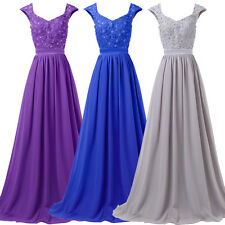 Long Formal Dress Bridesmaid Evening Party Prom Cocktail Ball Gown Sexy Dresses