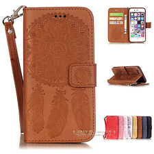 Luxury Wallet Magnetic Flip Leather Case Cover for Apple iPhone SE 5s 6 6s Plus