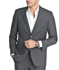 Men's Charcoal Gray 2 Button Slim Fit Suit NEW Alberto Cardinali