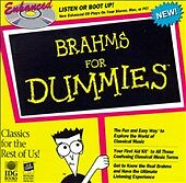 Brahms for Dummies ECD (CD, Nov-1997, EMI Music Distribution)