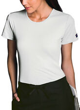 Scrubs Cherokee Workwear Womens Short Sleeve  Knit Tee White 4808 FREE SHIPPING
