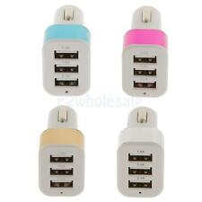 Micro Auto Universal Mini 3 Port USB Car Charger for Mobile Cellphone iPhone