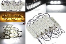 Injection Molding 3LED/4LED 5050 SMD Module Waterproof Decorative Light Lamp New