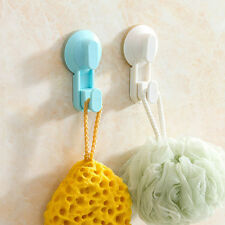 Large Suction Cup Strong Lever Lock Hook Wall Hanger Glass Kitchen Sucker HookBB