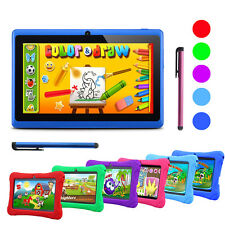 "7"" Google Android 4.4 Quad Core HD 8GB Tablet PC Pad Wi-Fi Camera Bundled Case"