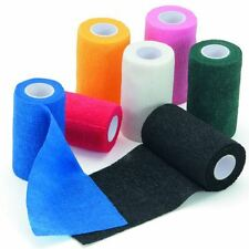 EQUESTRIAN VETWRAP JUMPING SCHOOLING EXERCISE COHESIVE BANDAGES ROLL 2 4 6 8 10