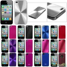 Brushed METAL Phone Case Cover For APPLE iPhone 4/4S Slim Cosmo Back