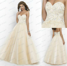 New Long Bridesmaid Dresses Formal Party Prom Dresses Evening Ball Gown 6-16