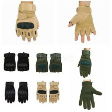 1Pairs Outdoor Tactical Military Airsoft Shooting Motorcycle Armed Finger Gloves