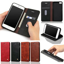 Flip Leather Magnetic Wallet Card Stand Case Cover for iPhone 6 6S Plus 5 5s SE