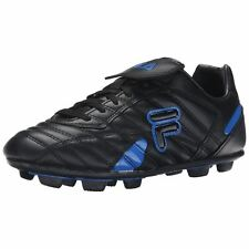 Fila FORZA III RB Mens Outdoor Soccer Cleats in Black/Prince Blue 1XZ006XX-963