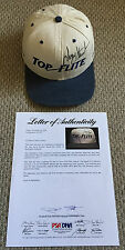Rare! PAYNE STEWART Signed GAME USED WORN Top Flight GOLF HAT PGA Tour PSA/DNA