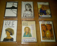 KYLIE MINOGUE - LOT 6 INDONESIA CASSETTE- FREE SHIPPING!! madonna britney spears