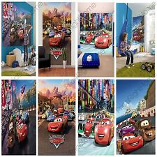 DISNEY CARS WALL MURALS 6 DESIGNS AVAILABLE KIDS BEDROOM 100% OFFICIAL