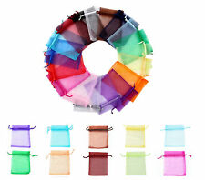 15X20cm Luxury Organza Gift Bags Wedding Party Favour Jewellery Packing Pouches