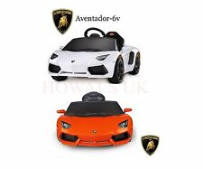 Kids Licensed Aventador 6V Electric Battery Powered Ride on Sports Car + Remote