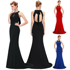 Women Lady Sexy Mermaid Formal Evening Cocktail Dress Party Pageant Ball Gowns