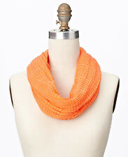 Ann Taylor Textured Woven Infinity Scarf, NWT