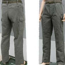 BW Field trousers the German armed forces Moleskin Pants stone-washed Leo Köhler