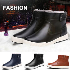 Mens velvet warm cotton-padded shoes casual high-top boots 2016 Fashion  New