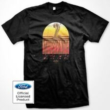 Licensed Ford Mens T Shirt Mustang Tombstone Shelby GT SVT Classic Car Logo