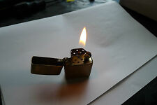 Old Zippo XV Brass Lighter Made In U.S.A Spare/Repair Or Parts Lot No 2