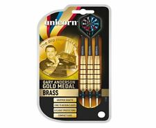 Unicorn Gary Anderson Gold Medal Brass Steel Tip Darts
