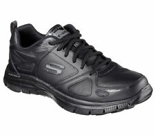 51461 Black Skechers Shoes Men Memory Foam Comfort Athletic Sport Train Sneaker