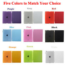 New  For Apple iPad 2 3 4 Sleep/Wake Magnetic Leather Smart Cover Hard Back Case