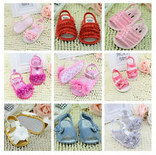 Baby Infant Kids Girl Princess Soft Sole Crib Toddler Summer Sandals Shoes 0-18M
