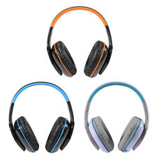 Bluetooth Headphone Stereo Wireless Headset Foldable Gaming Headset for PS4 Mac