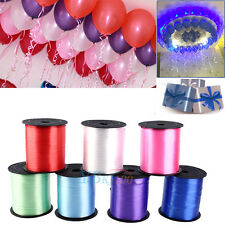 250Yds Balloon Curling Ribbon Roll Craft Wedding Birthday Gift Wrap Party Decor
