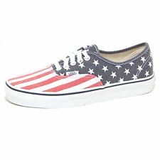 7930P sneaker uomo VANS DOREN AUTHENTIC stars & stripes shoe man