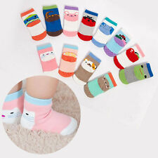 Cartoon NEW Baby Children Terry Cute Loveliness Warm Middle Tube Socks