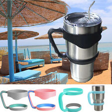 Handle+Lid+Straw 30Oz Stainless Steel Mug Handle Insulated Tumbler Mug Cup Lot