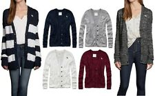 NEW Abercrombie & Fitch Womens Quinn Sweater Sadie Cardigan Easy Fit NWT