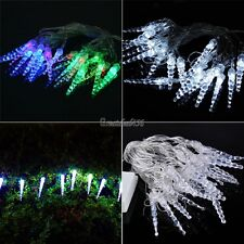 5M 20LED Christmas Icicle String Lights Outdoor Fairy Wedding Party Light Decor
