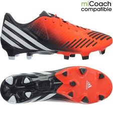 Adidas Predator LZ TRX FG men's professional soccer cleats orange/white/black