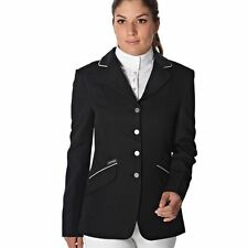 Just Togs Ladies Beverly Show Jacket Equestrian Racing Collar Clothing