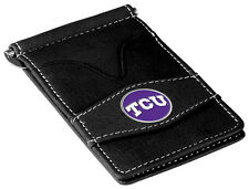 Texas Christian Horned Frogs Player's Leather Wallet