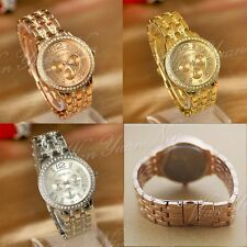Women Lady Stainless Steel Crystal Quartz Analog Wrist Watch Watches Classic New