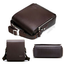 Men Travel Faux Leather Messenger Shoulder Bag Crossbody Handbag Small Bag Hot