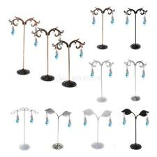 3pcs Retro Earring Necklace Jewelry Display Rack Stand Holder Organizer 7 Types